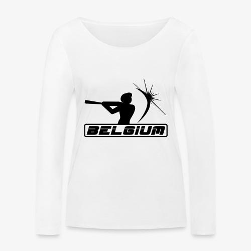 Belgium 2 - T-shirt manches longues bio Stanley & Stella Femme
