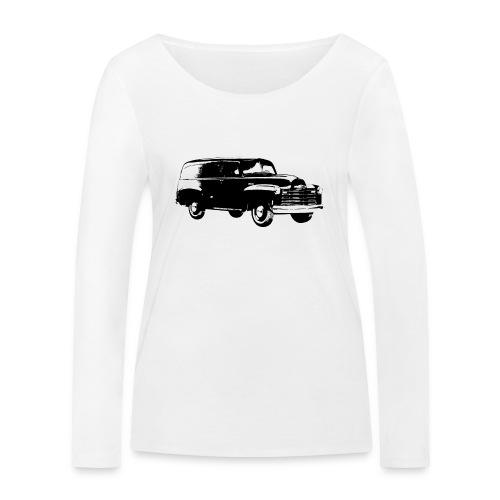 1947 chevy van - Frauen Bio-Langarmshirt von Stanley & Stella