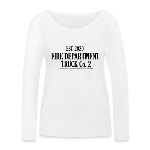 Truck Co.2 - BLACK - Økologisk Stanley & Stella langærmet T-shirt til damer