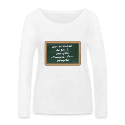 Apprendre - T-shirt manches longues bio Stanley & Stella Femme