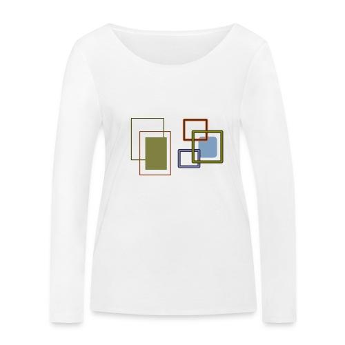 Quadratisch - Frauen Bio-Langarmshirt von Stanley & Stella
