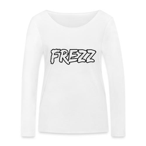 T Shirt FREZZ Noir&Blanc Classique (NOIR) - T-shirt manches longues bio Stanley & Stella Femme