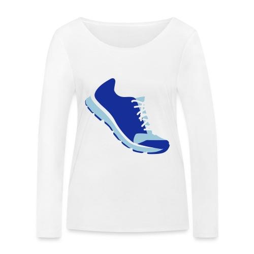 Laufschuh - Frauen Bio-Langarmshirt von Stanley & Stella