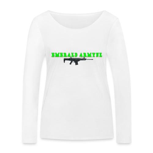 EMERALDARMYNL LETTERS! - Vrouwen bio shirt met lange mouwen van Stanley & Stella