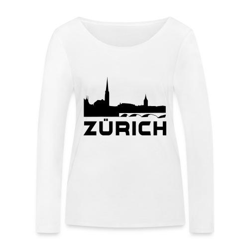 Zürich - Frauen Bio-Langarmshirt von Stanley & Stella
