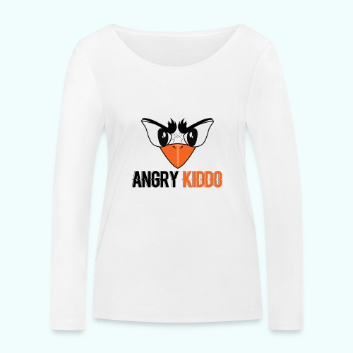 Angrykiddo - T-shirt manches longues bio Stanley & Stella Femme