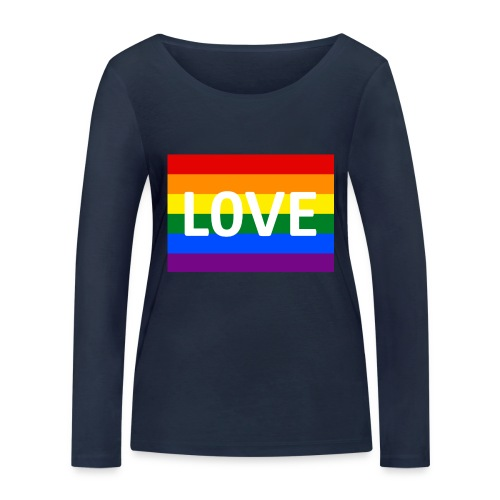 LOVE SHIRT - Økologisk Stanley & Stella langærmet T-shirt til damer