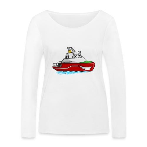 Boaty McBoatface - Women's Organic Longsleeve Shirt by Stanley & Stella
