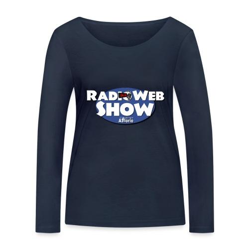 Logo RadioWebShow - Maglietta a manica lunga ecologica da donna di Stanley & Stella