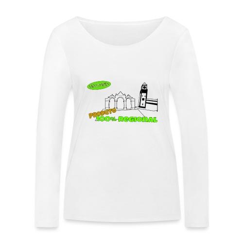 City Gates - Women's Organic Longsleeve Shirt by Stanley & Stella
