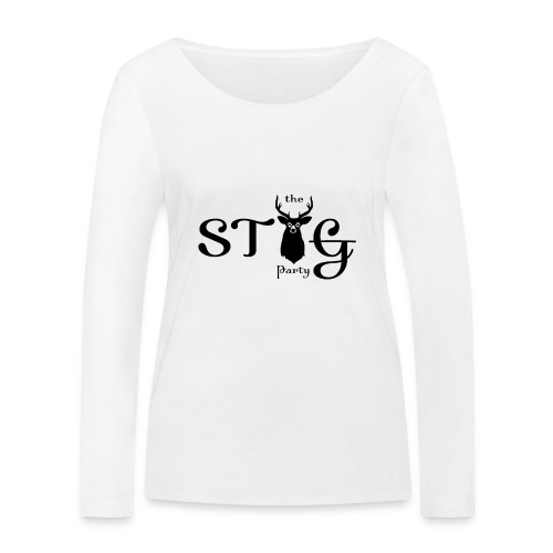 THE STAG PARTY - Women's Organic Longsleeve Shirt by Stanley & Stella