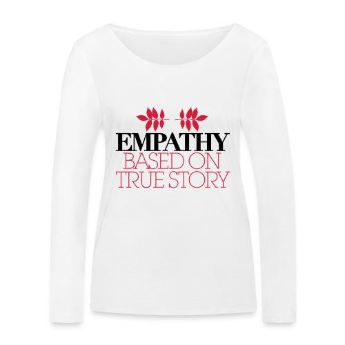 empathy story - Ekologiczna koszulka damska z długim rękawem Stanley & Stella