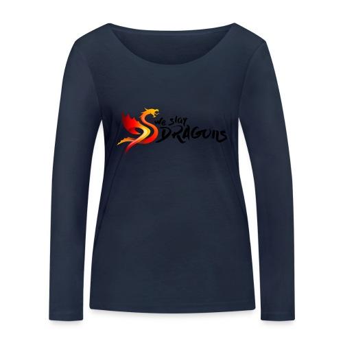 Slay Dragons - vankityrmät Dragons - Stanley & Stellan naisten pitkähihainen luomupaita