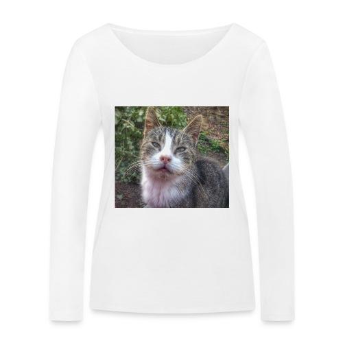 Katze Max - Frauen Bio-Langarmshirt von Stanley & Stella