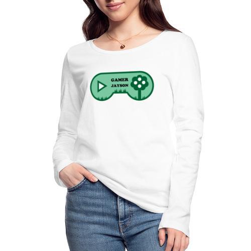 Joueur Jayson - T-shirt manches longues bio Stanley & Stella Femme