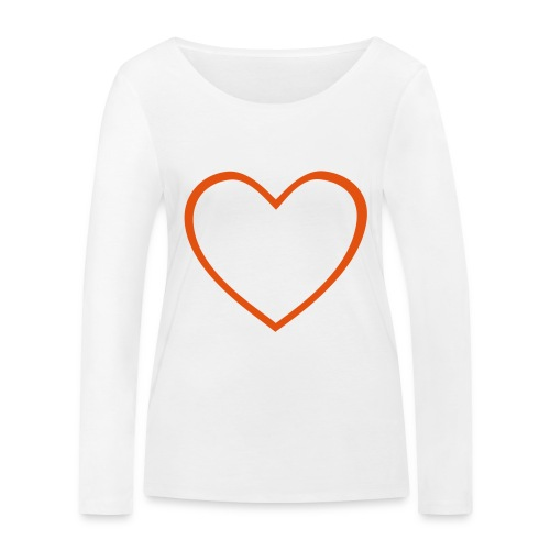 Hjärta 4 - Ekologisk långärmad T-shirt dam från Stanley & Stella