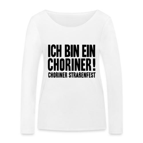 Ich bin ein Choriner! - Frauen Bio-Langarmshirt von Stanley & Stella