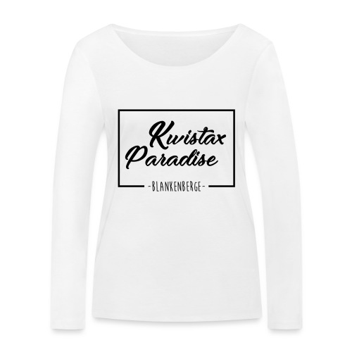 Cuistax Paradise - T-shirt manches longues bio Stanley & Stella Femme