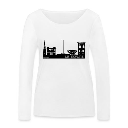 Lu skyline de Terni - Maglietta a manica lunga ecologica da donna di Stanley & Stella