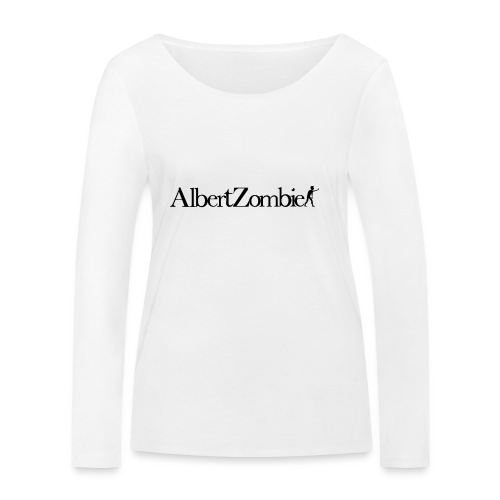 Albert Zombie - T-shirt manches longues bio Stanley & Stella Femme