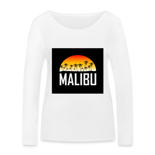 Malibu Nights - Women's Organic Longsleeve Shirt by Stanley & Stella