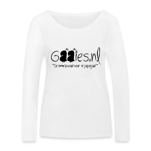 gaaies - Vrouwen bio shirt met lange mouwen van Stanley & Stella