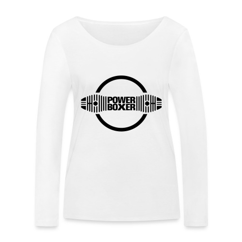 Motorrad Fahrer Shirt Powerboxer - Frauen Bio-Langarmshirt von Stanley & Stella