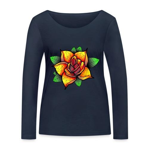 rose - T-shirt manches longues bio Stanley & Stella Femme