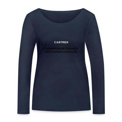 design castres - T-shirt manches longues bio Stanley & Stella Femme