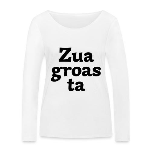 Zuagroasta - Frauen Bio-Langarmshirt von Stanley & Stella