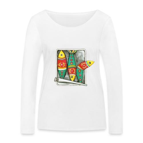 Les sardines du Portugal - T-shirt manches longues bio Stanley & Stella Femme