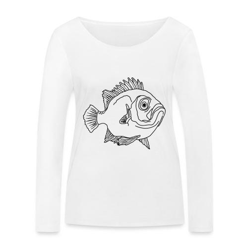 Fisch Barsch Ozean Meer Wasser Aquarium Angeln - Frauen Bio-Langarmshirt von Stanley & Stella
