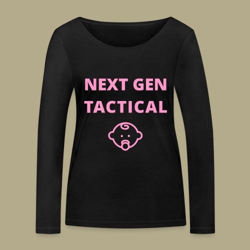 Tactical Baby Girl - Vrouwen bio shirt met lange mouwen van Stanley & Stella