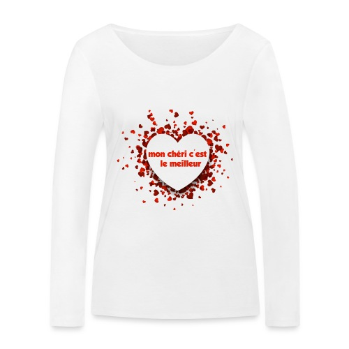 Mon cherie tasse - T-shirt manches longues bio Stanley & Stella Femme