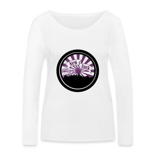 New York City - T-shirt manches longues bio Stanley & Stella Femme