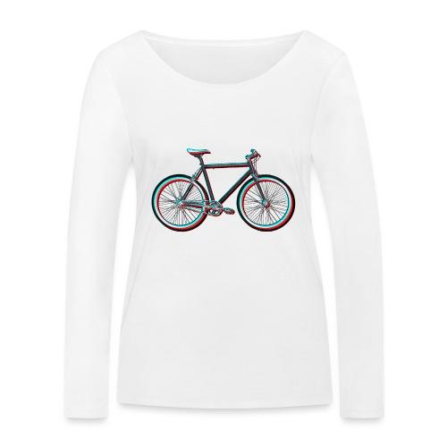 Single-Speeder - Frauen Bio-Langarmshirt von Stanley & Stella