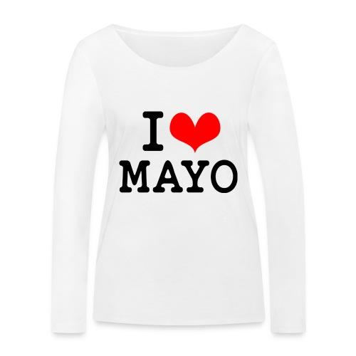 I Love Mayo - Women's Organic Longsleeve Shirt by Stanley & Stella