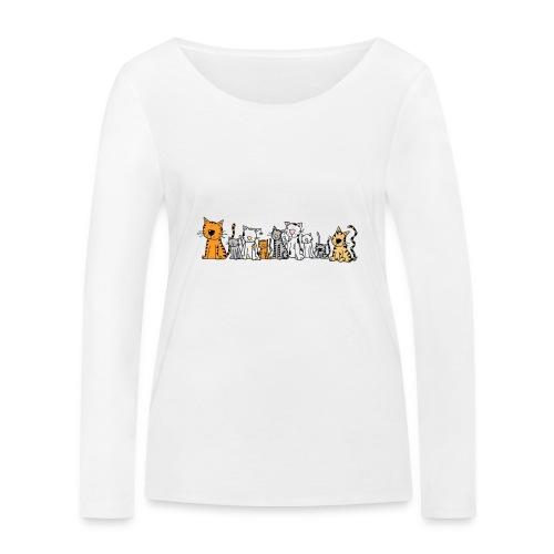 Cats & Cats - Vrouwen bio shirt met lange mouwen van Stanley & Stella