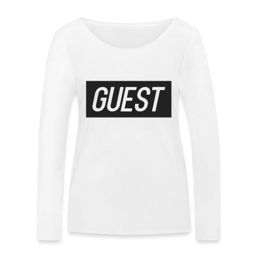 G-rectangle (grey) - Women's Organic Longsleeve Shirt by Stanley & Stella