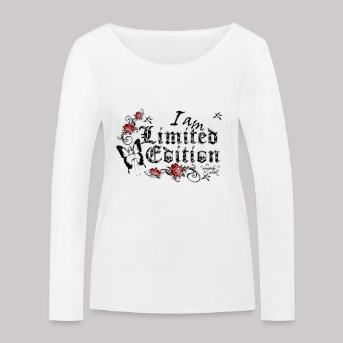 simply wild limited Edition on white - Frauen Bio-Langarmshirt von Stanley & Stella