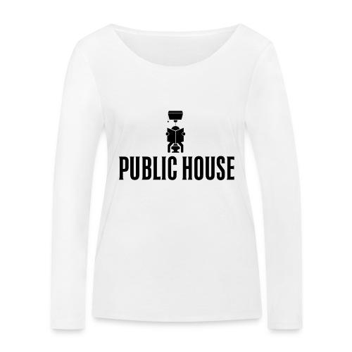 Official Women Shit by Public House - Women's Organic Longsleeve Shirt by Stanley & Stella