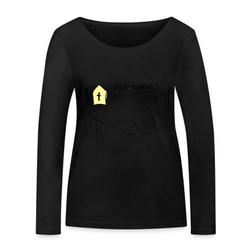 juksepave png - Økologisk langermet T-skjorte for kvinner fra Stanley & Stella