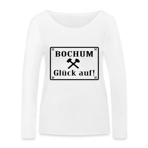 Glück auf! Bochum - Frauen Bio-Langarmshirt von Stanley & Stella