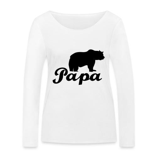 papa beer - Vrouwen bio shirt met lange mouwen van Stanley & Stella