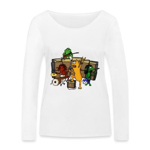 Kobold Metal Band - Women's Organic Longsleeve Shirt by Stanley & Stella