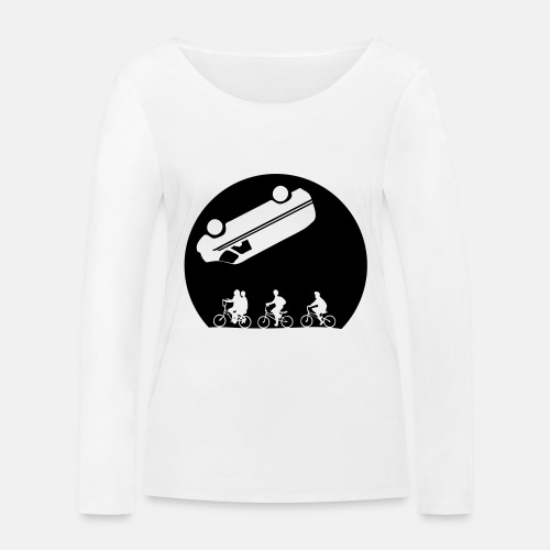Stranger Things Eleven - Women's Organic Longsleeve Shirt by Stanley & Stella