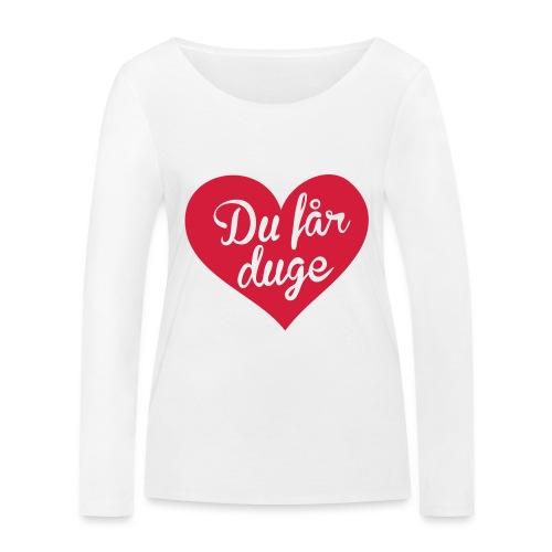 Ekte kjærlighet - Det norske plagg - Økologisk langermet T-skjorte for kvinner fra Stanley & Stella