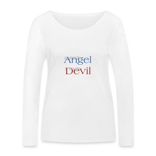 Angelo o Diavolo? - Maglietta a manica lunga ecologica da donna di Stanley & Stella