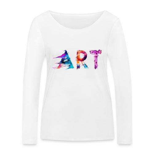 Art - T-shirt manches longues bio Stanley & Stella Femme