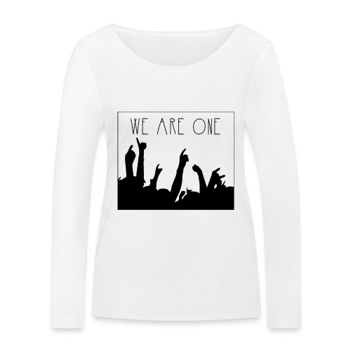 We Are One Hoody Women - Vrouwen bio shirt met lange mouwen van Stanley & Stella